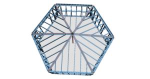 hexagon domek